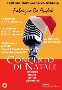 locandina concerto Natale 2015